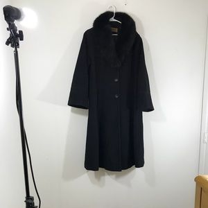 Sachi Collection Trench Coat Plus Size 14W